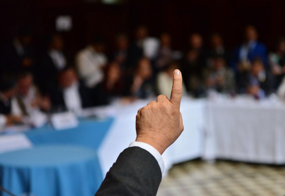 Se programó que este martes se forme la comisión pesquisidora para investigar a la ministra de Trabajo. (Foto: Jesús Alfonso/Soy502)