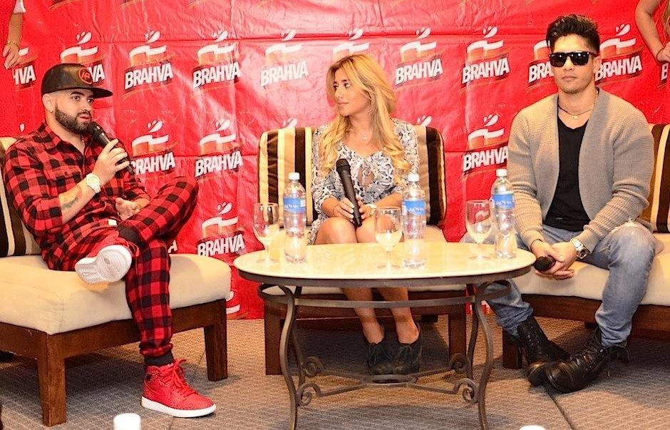 Chino y Nacho compartieron con sus fanáticas previo a su show en el país. (Foto: Selene Mejía/Soy502)