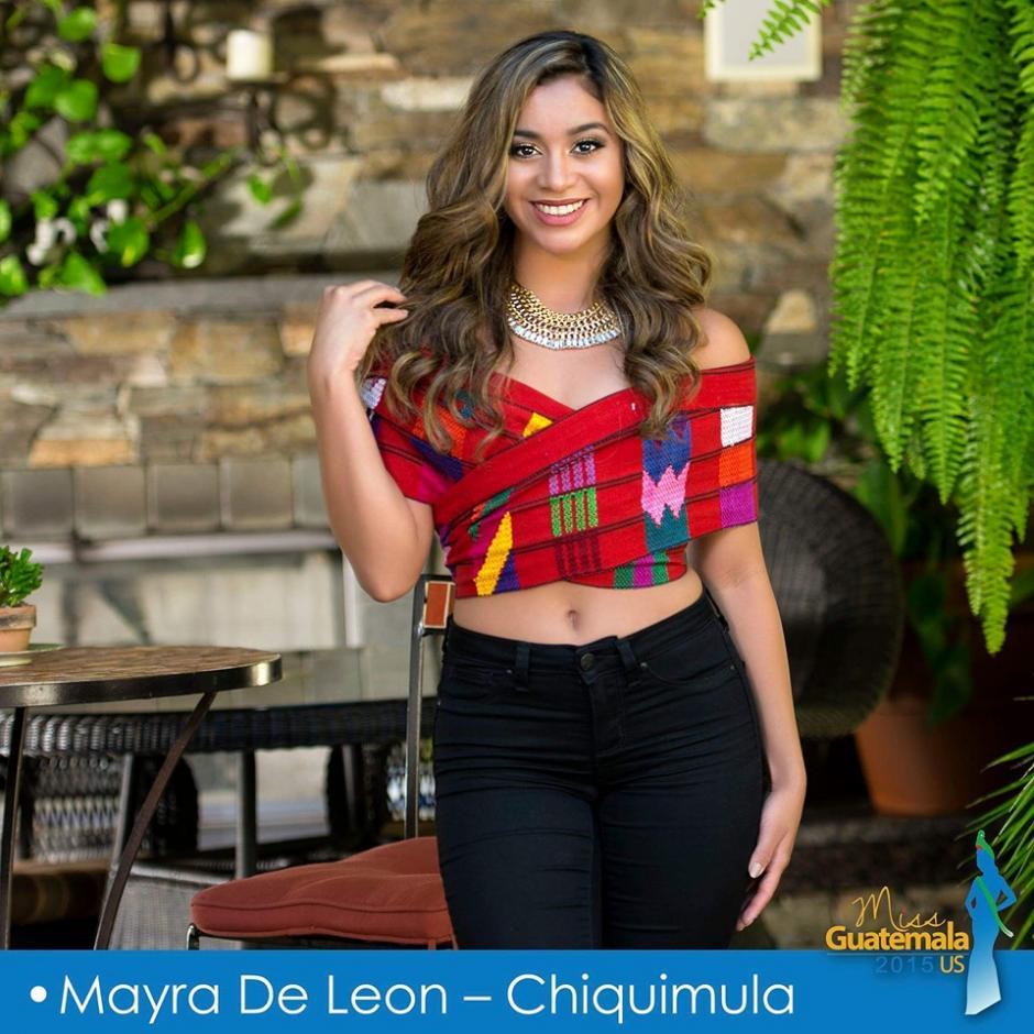 Mayra De León representa a Chiquimula. (Foto: Miss Guatemala US)