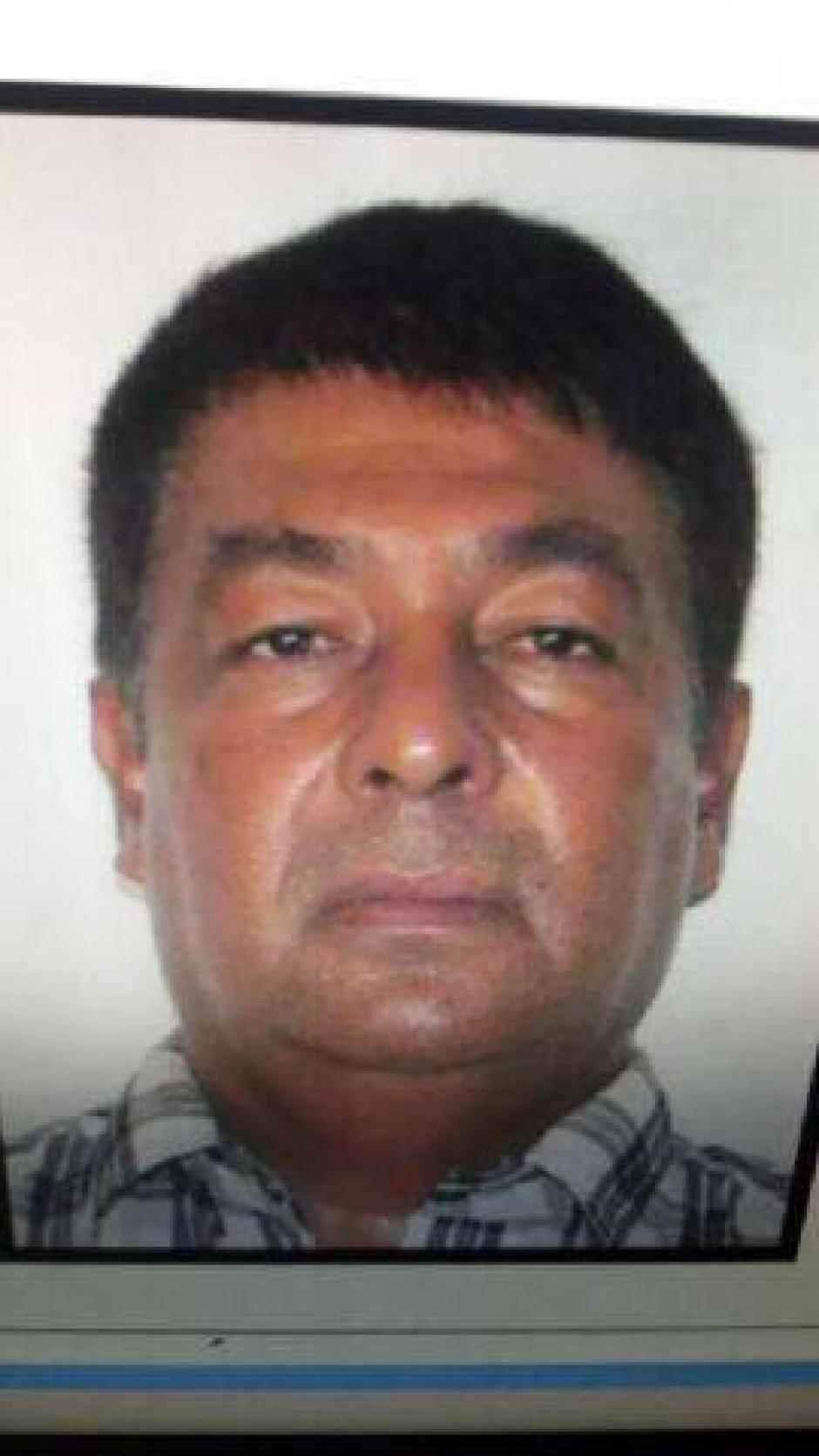 """Manfredo Cordón """"El Morado"""" fue capturado en junio de 2015, el Ministerio de Gobernación lo vincula con el cartel del Golfo. (Foto: MinGob)"""