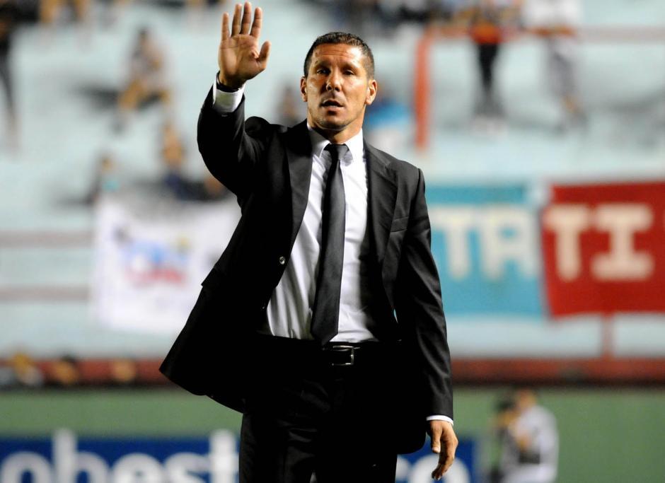 """En 2014, """"El Cholo"""" fue expulsado por dar un """"zape"""" a un arbitro. (foto: diariomovil.com)"""