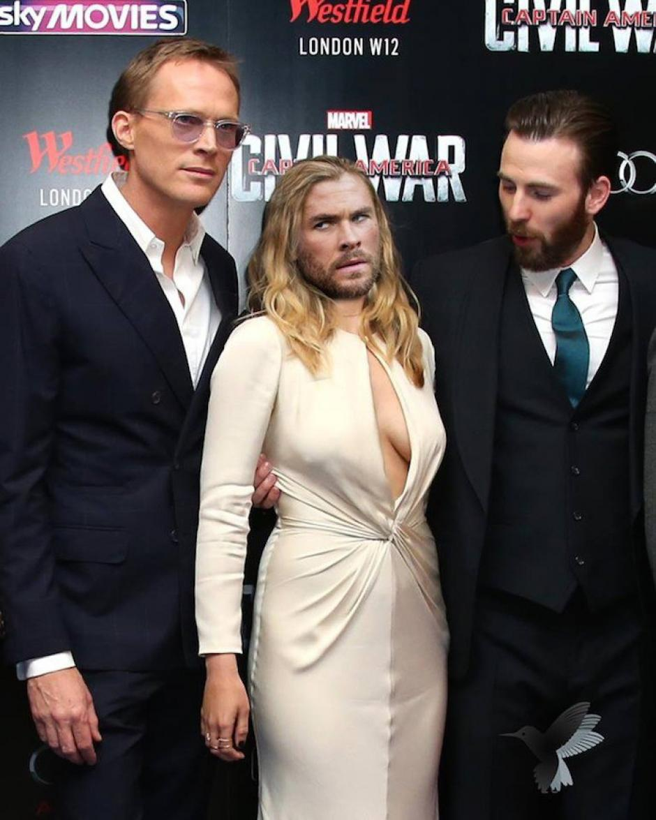 Algunos no quisieron dejar fuera a Thor. (Imagen: sopitas.com)