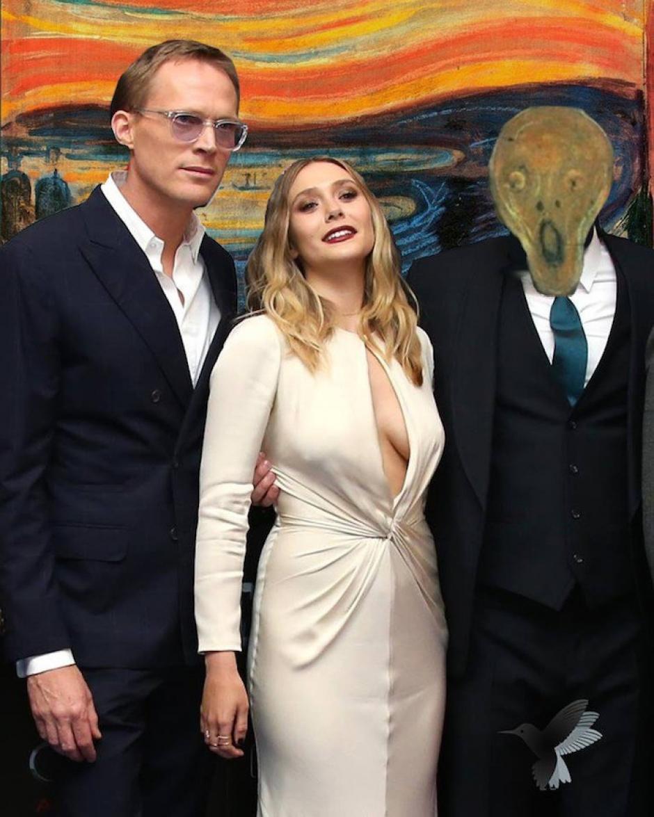"""La obra """"El grito"""" de Edvard Munch, también fue parte de los memes. (Imagen: sopitas.com)"""