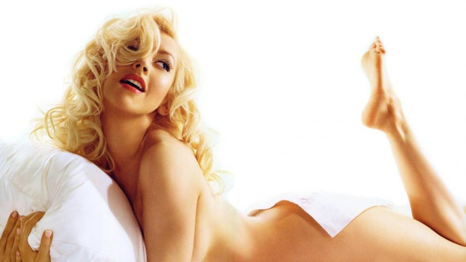 En esta imagen, Christina recuerda a Marilyn. (Foto: Whaddaheck)