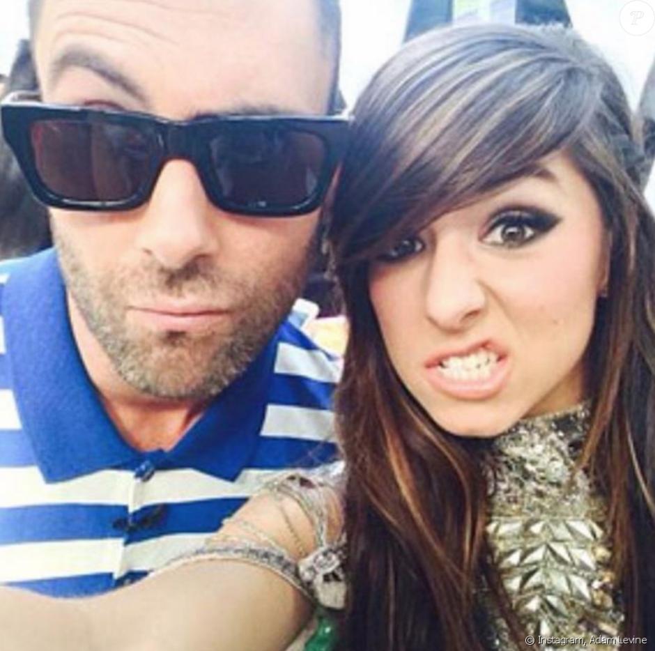 Esta fue la fotografía que Levine posteó en sus redes lamentando el hecho. (Foto: Adam Levine)