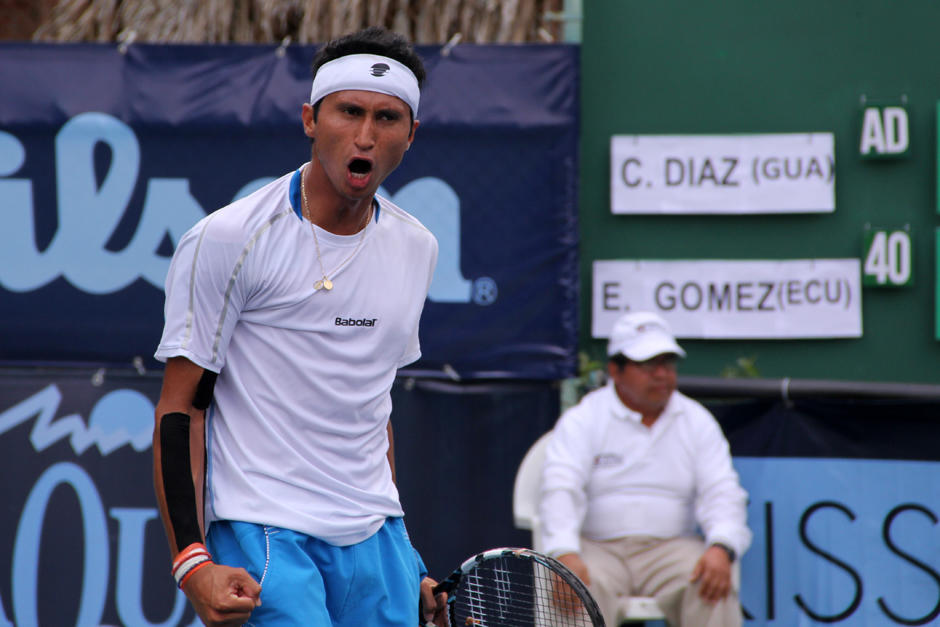 Christopher Díaz, Federico Zeballos, Guatemala. Bolivia, Copa Davis, Davis Cup
