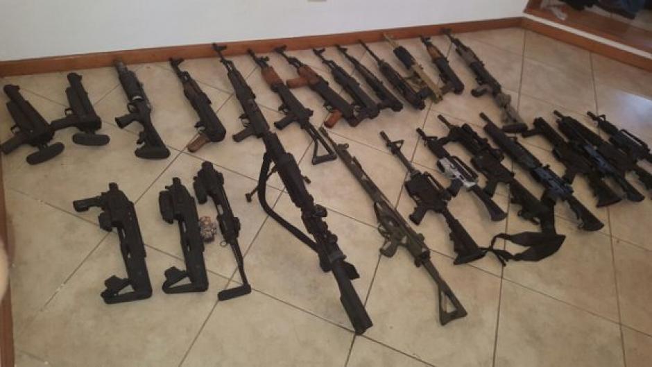 """La reciente captura de """"El Fantasma"""" o """"M-3"""", demuestra que """"El Chapo"""" tiene fuerte presencia en el país. (Foto: Mingob)"""