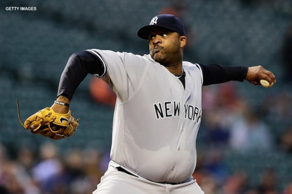 CC Sabathia hace historia en la victoria de los Yankees foto