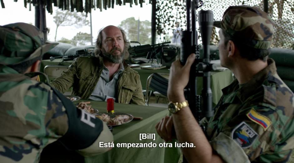 La CIA no propuso a los hermanos Castaño a formar Los Pepes, fue Fidel Castaño. (Foto: Netflix)