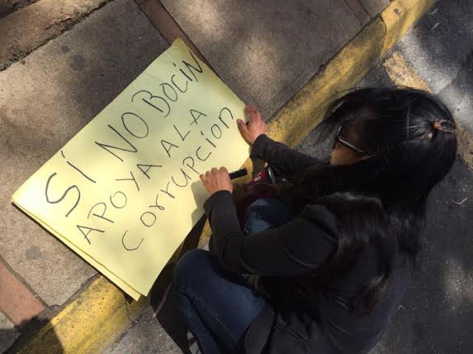 Los guatemaltecos piden que la CICIG continúe su labor en contra de estructuras de corrupción. (Foto: Jesús Alfonso/Soy502)