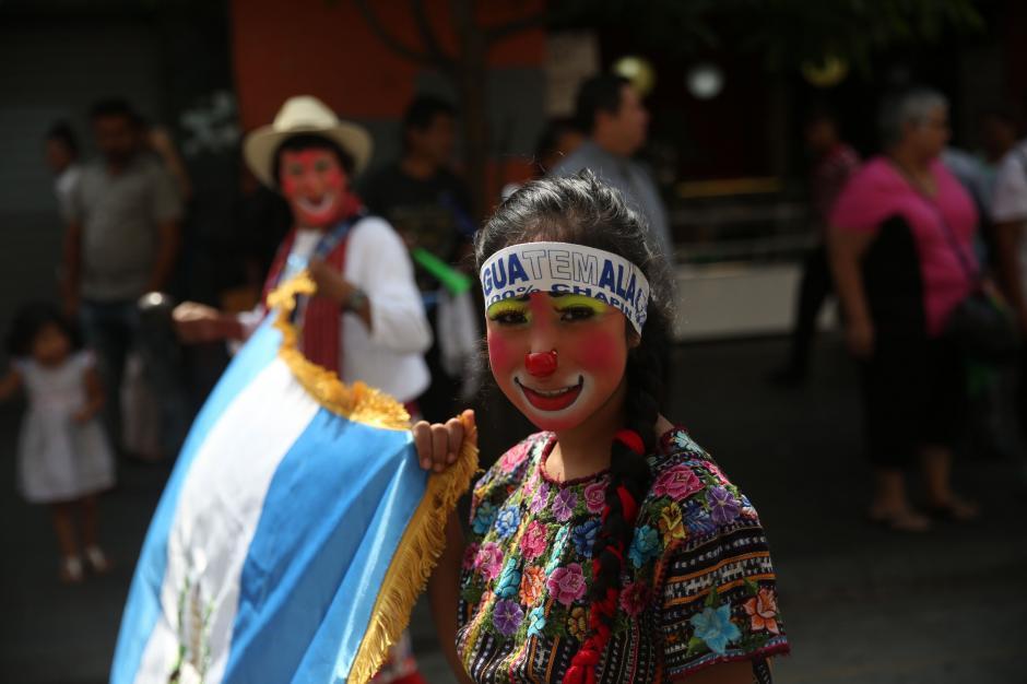 El Día del Payaso, una fecha creada para dignificar esa profesión en Guatemala. (Foto: EFE)