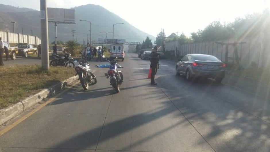 Un motorista murió en el kilómetro 37 de la ruta al Pacífico. (Foto: @Provial)