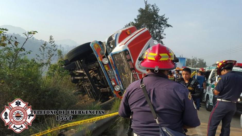 Los Bomberos Municipales Departamentales atendieron la emergencia. (Foto: @CBMDEPTAL)