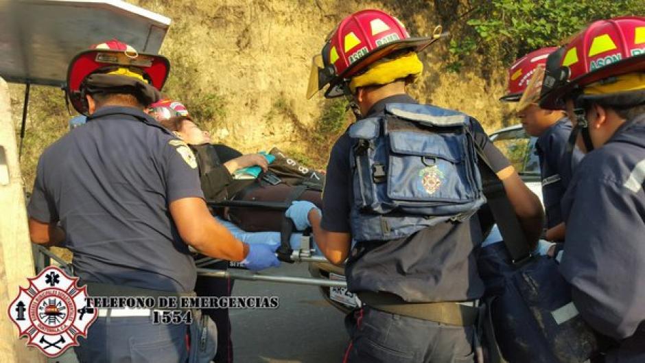 Al menos 25 personas heridas en accidente de tránsito en ruta Interamericana. (Foto: @CBMDEPTAL)