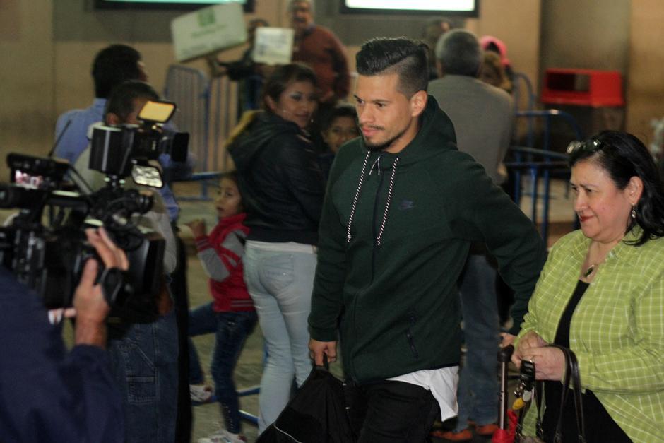 Cincotta dijo estar comprometido con el triunfo. (Foto: Luis Barrios/Soy502)