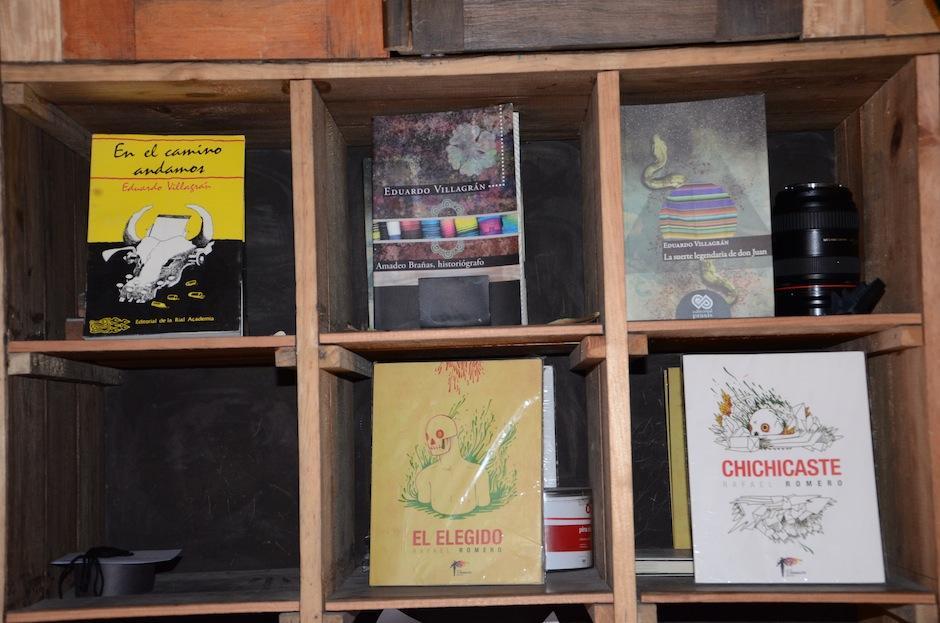 """la literatura también tiene un lugar muy importante en """"La casa del río"""". (Foto: Selene Mejía/Soy502)"""
