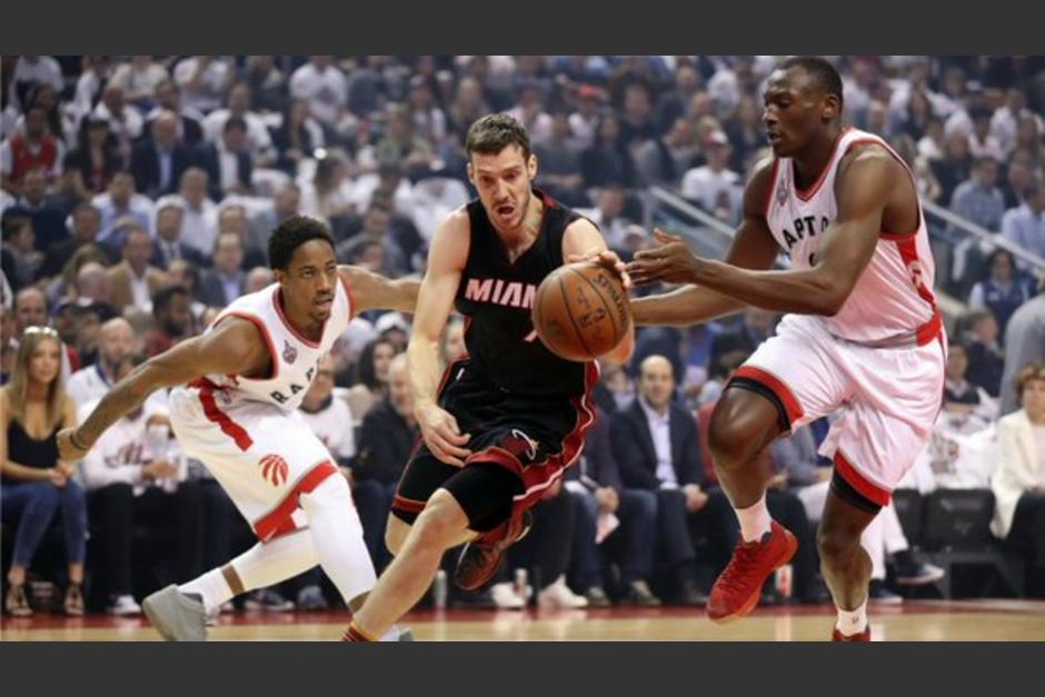 Raptors supera al Heat y está a un juego de la final. foto