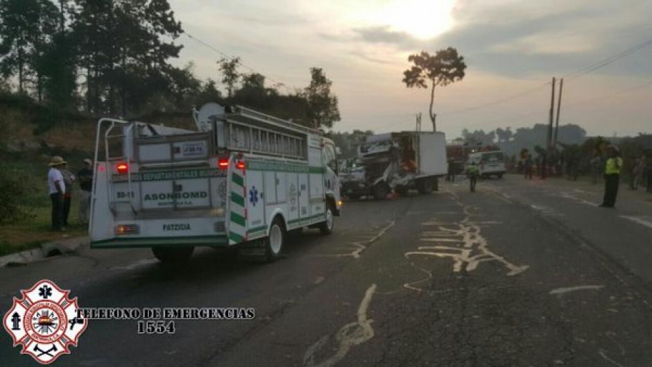 Un accidente de tránsito se produjo en el kilómetro 62 de la ruta Interamericana. (Foto: @CBMDEPTAL)