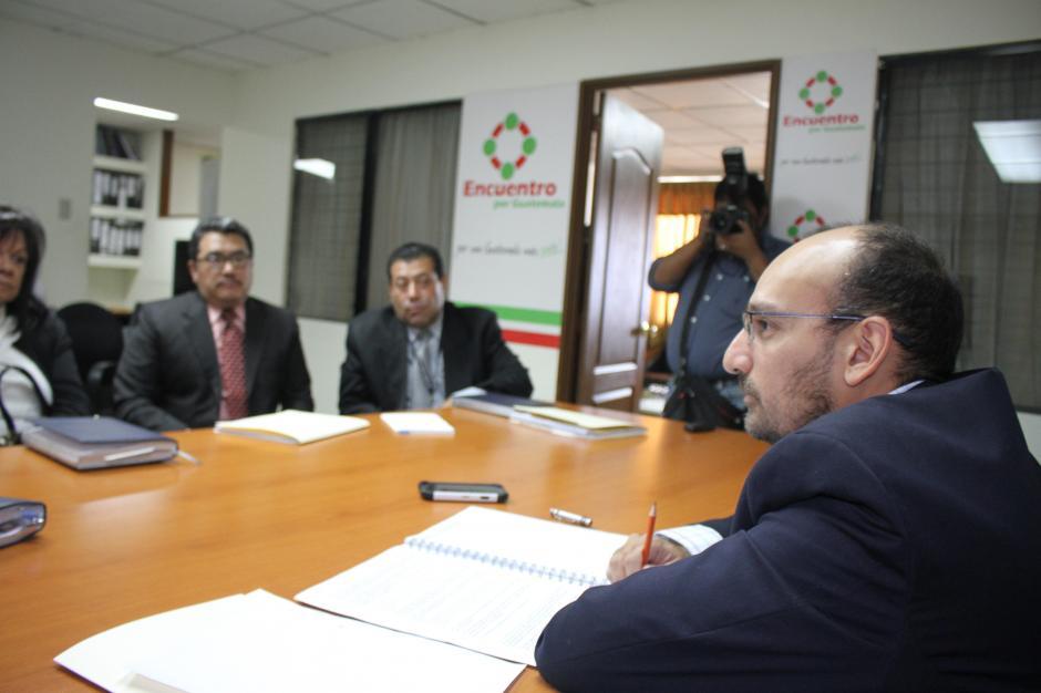 Durante la citación se reveló que el Ministro de Cultura y Deportes viajará a Río de Janeiro. (Foto: Luis Barrios/Soy502)