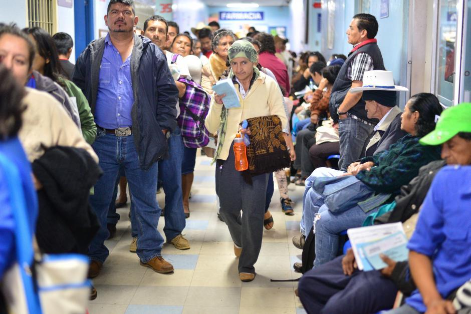 Se estima que durante el paro del 5 de enero al 1 de febrero se reprogramaron 21 mil citas.(Foto: Wilder Lopéz/Soy502)