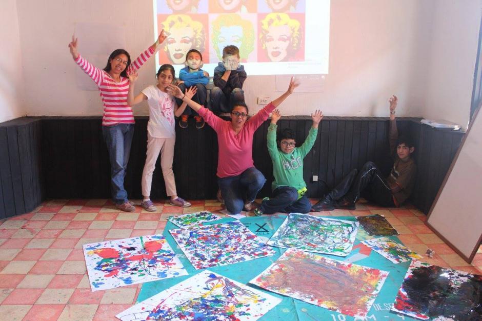 La galería se encuentra en Quetzaltenango y promueve la expresión entre culturas además de activar la crítica  social. (Foto: Ciudad Imaginación)