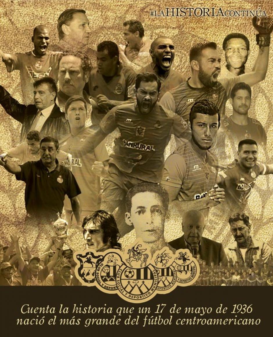Algunas de las leyendas y jugadores de la plantilla actual de los rojos. (Foto: Twitter Rojos)