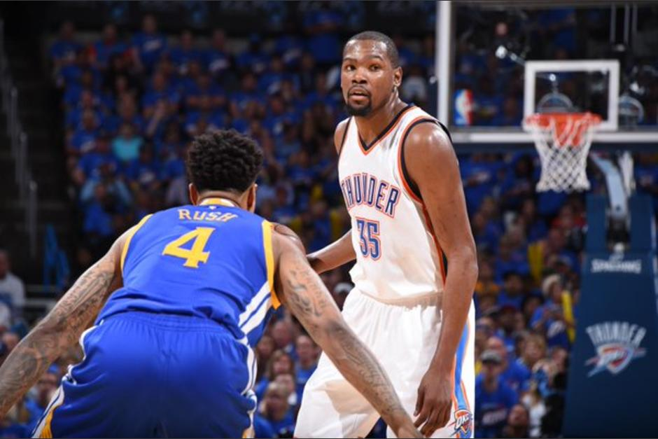 Los Thunder superaron a los Warriors y van por todo en la final. (Foto: AFP)