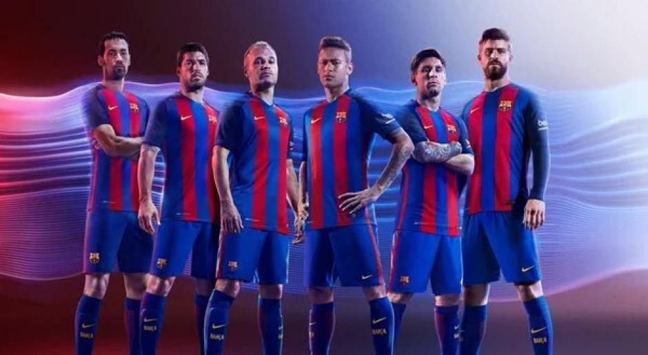 Barcelona sigue perteneciendo a la marca de ropa deportiva, Nike. (Foto: Twitter)