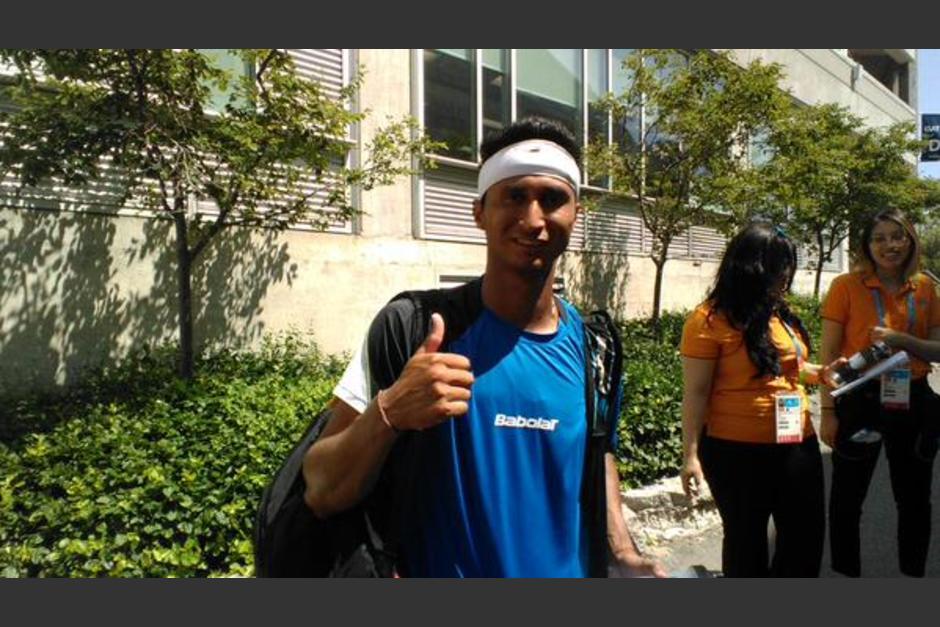 Christopher Díaz tenis Toronto 2015 foto