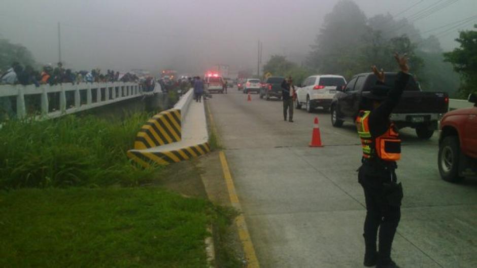 Los heridos fueron trasladados hacia el hospital de Cuilapa, Santa Rosa. (Foto: @Provial)