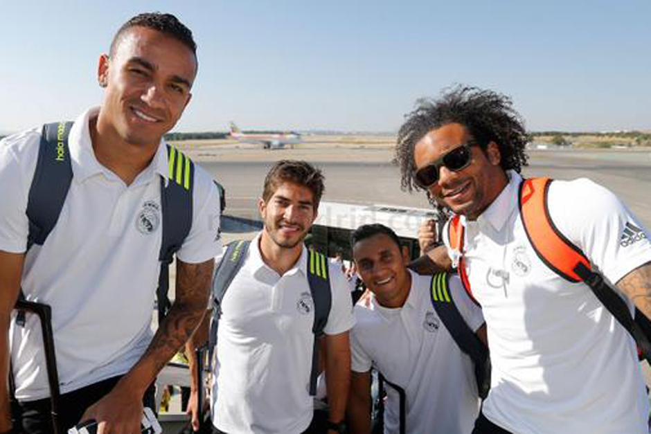 El Real Madrid partió de la capital española hacia la capital de Australia para seguir con su pretemporada