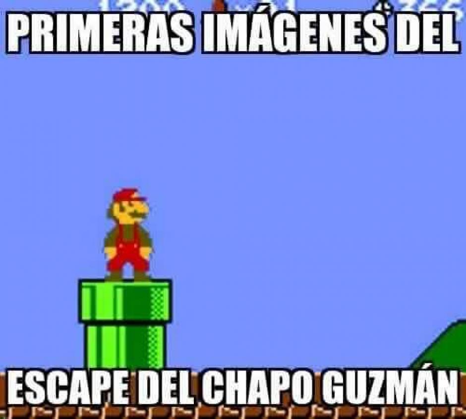 Según los internautas, de esta manera pudo haber escapado Guzmán de la prisión.