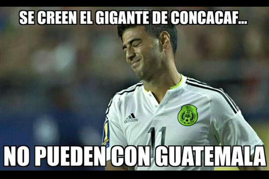 """Un """"meme"""" en el que aparece el mexicano Carlos Vela."""
