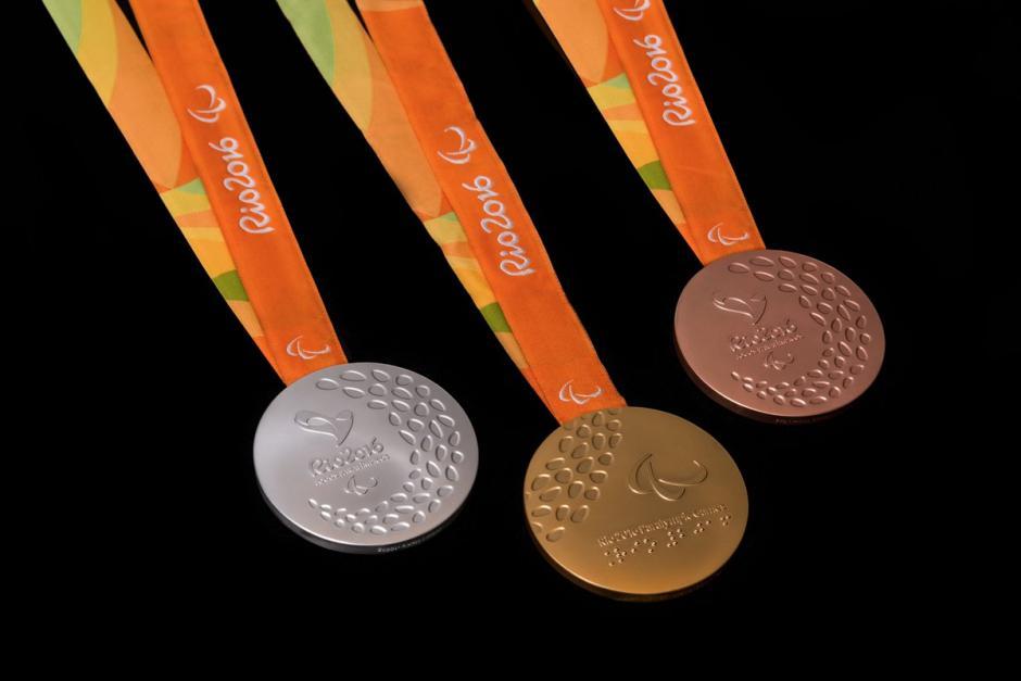 Así serán entregadas la medallas a los atletas en Río 2016. (Foto: EFE)