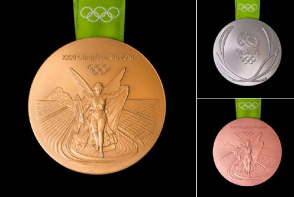 Estas son las medallas para los Juegos Olímpicos Río 2016. (Foto: EFE)