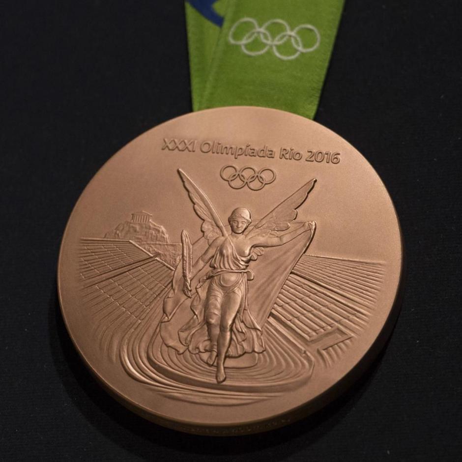 Las medallas de bronce para Juegos Olímpicos Río 2016. (Foto: EFE)