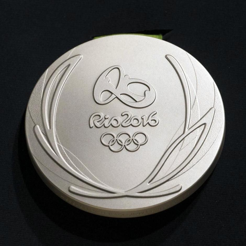 Medalla de plata de Río 2016. (Foto: EFE)