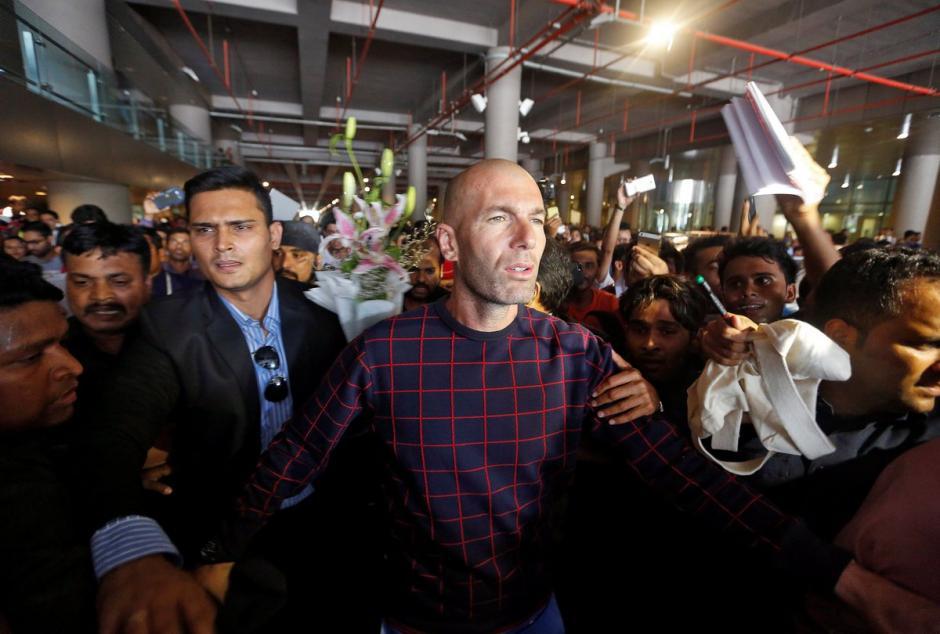 Zinedine Zidane foto india