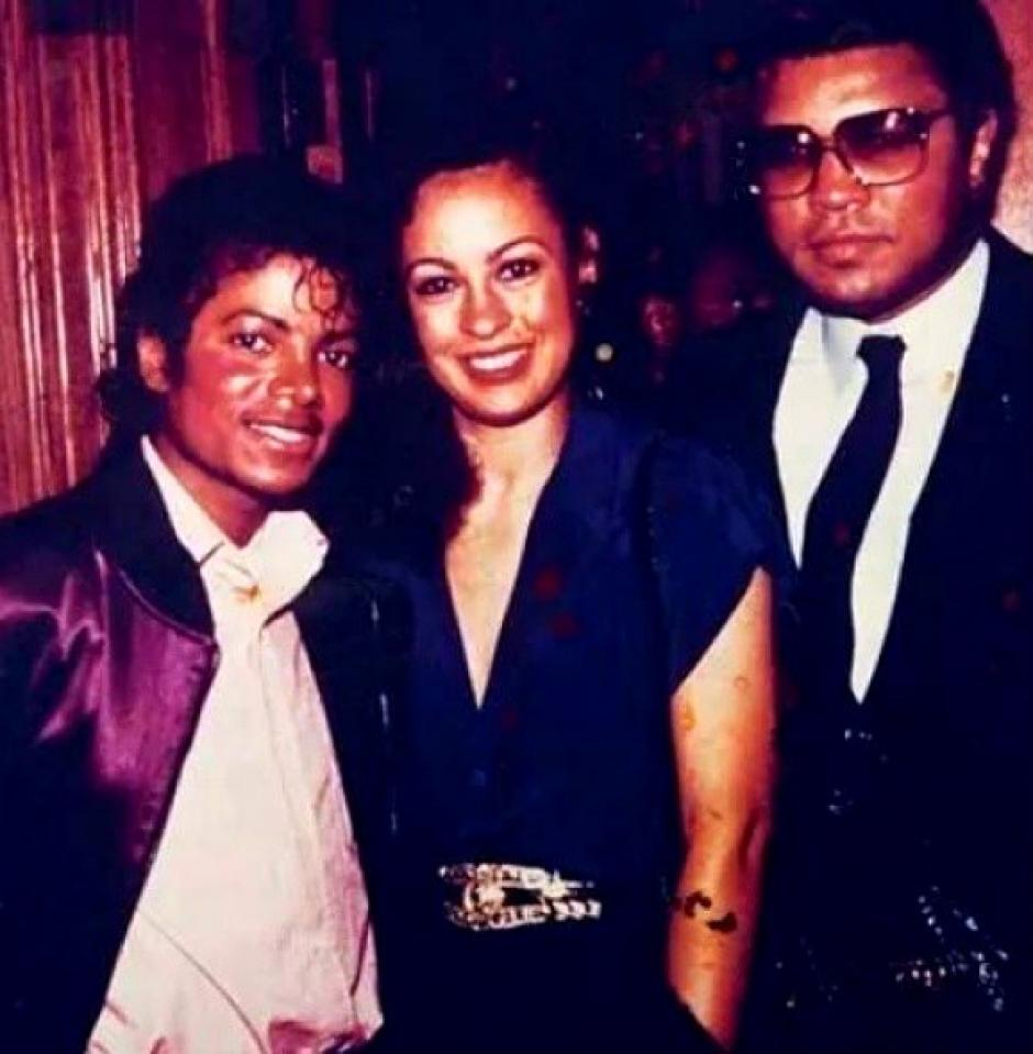 Michael Jackson compartió también con Muhammad Ali. (Foto: Twitter)