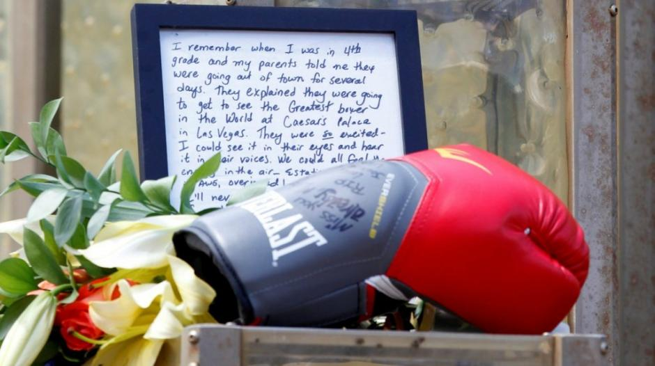 El legado de Alí será recordado por todos. (Foto: AFP)