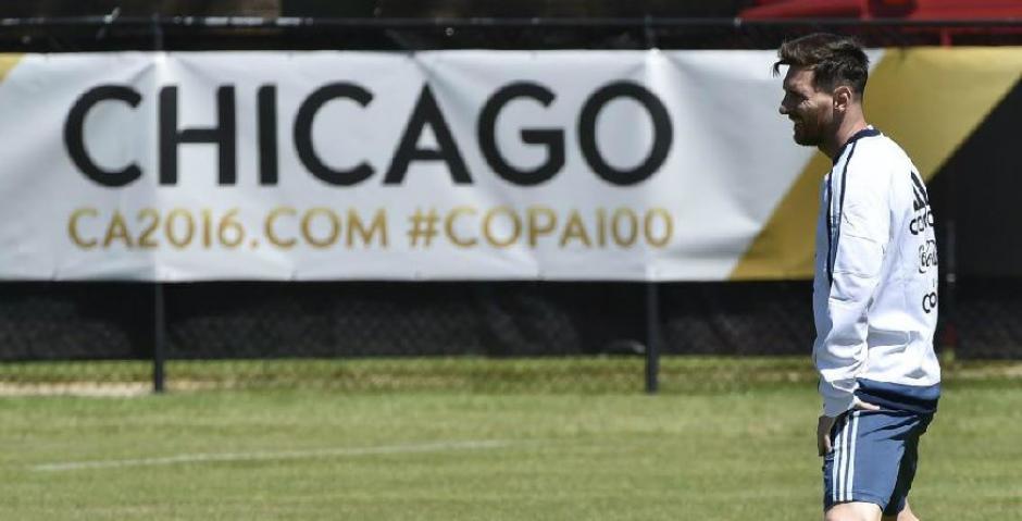 Messi no será titular contra panamá foto