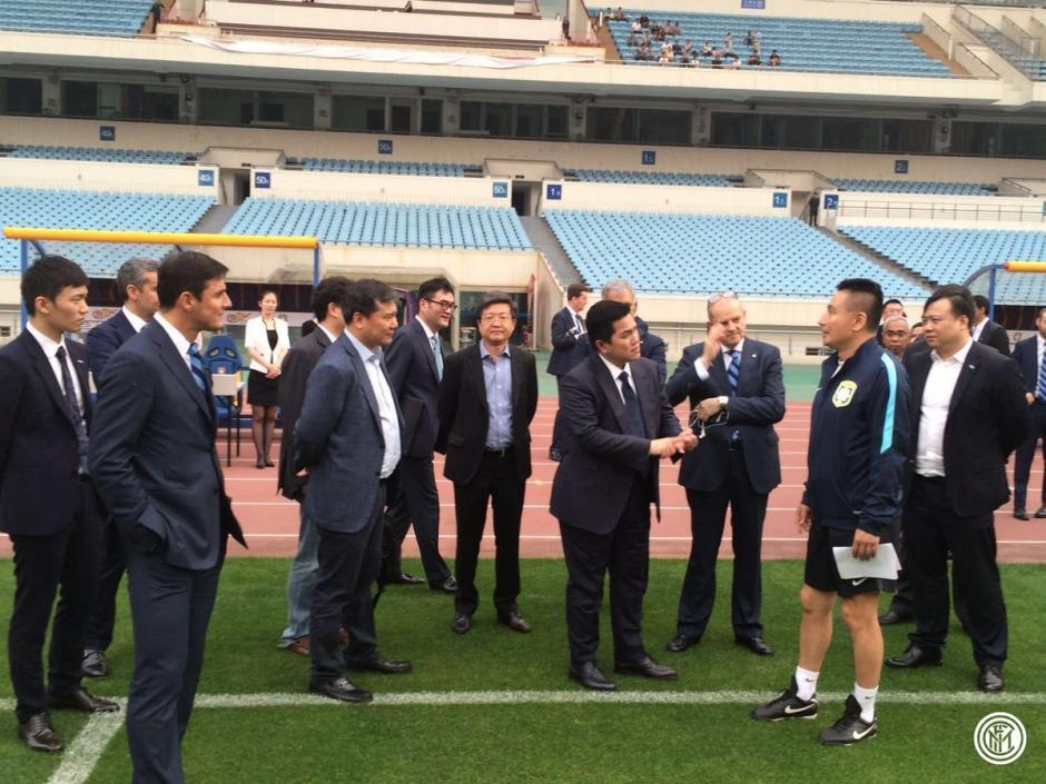 Chinos adquieren al Inter de Milán foto