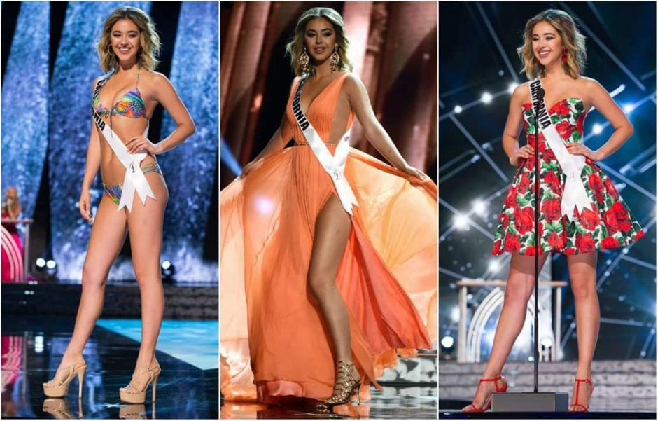 Así es Miss California, Nadia Mejía. (Foto: Twitter)