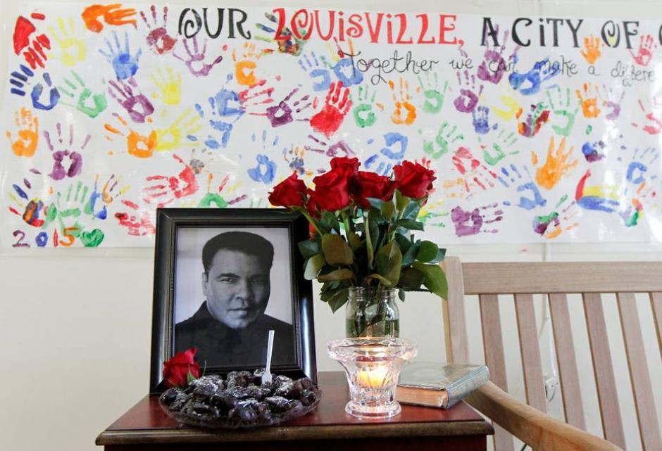 El cuerpo de Muhammad Alí ya está en Louisville. (Foto; EFE)