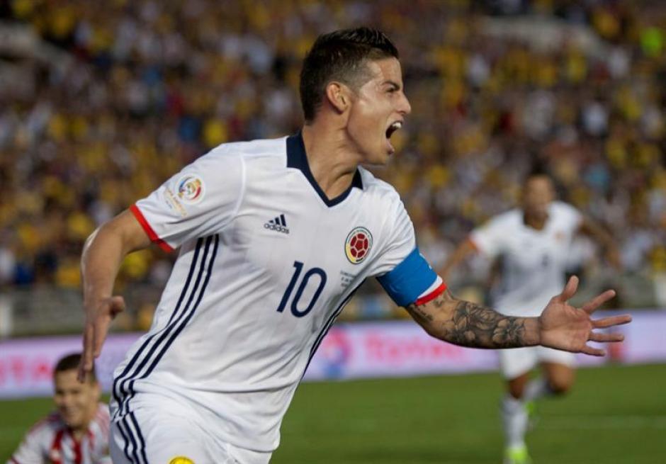 James Rodríguez aportó un gol y una asistencia. (Foto: EFE)