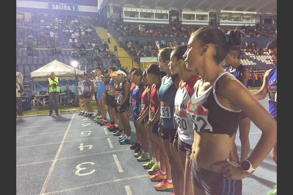 La jornada de sábado del Festival de Atletismo terminó con la prueba de marcha (10,000 metros). (Foto: Soy502)