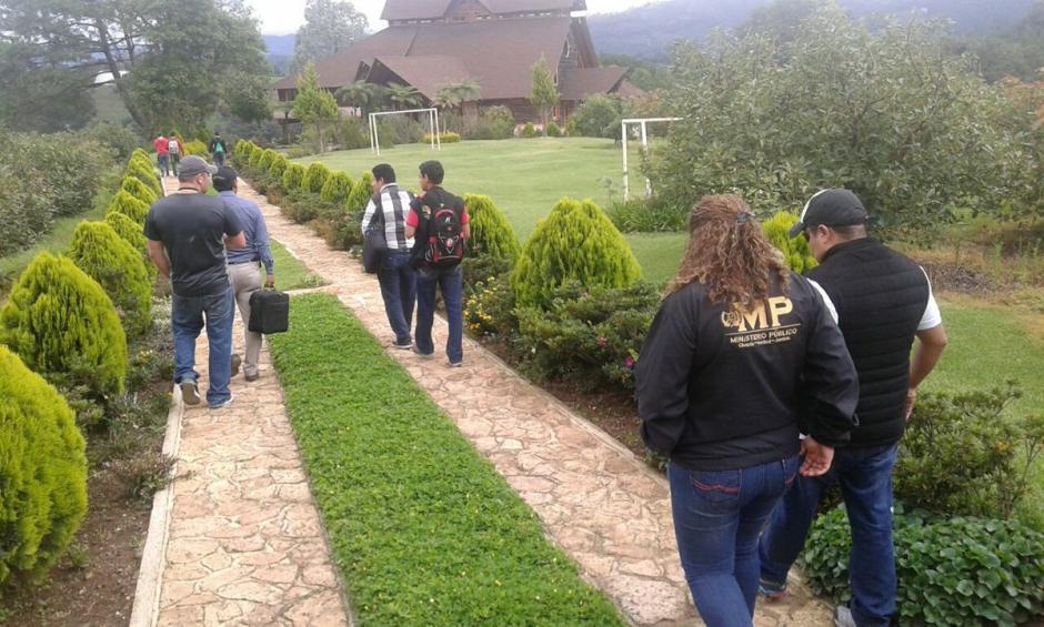 El inmueble se encuentra ubicado en Zaragoza, Chimaltenango. (Foto: @MPguatemala)