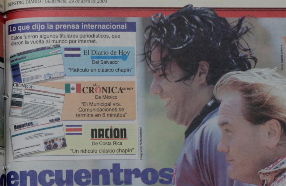 Medios internacionales catalogaron de ridículo y bochornoso el clásico guatemalteco.  (Foto: Nuestro Diario)
