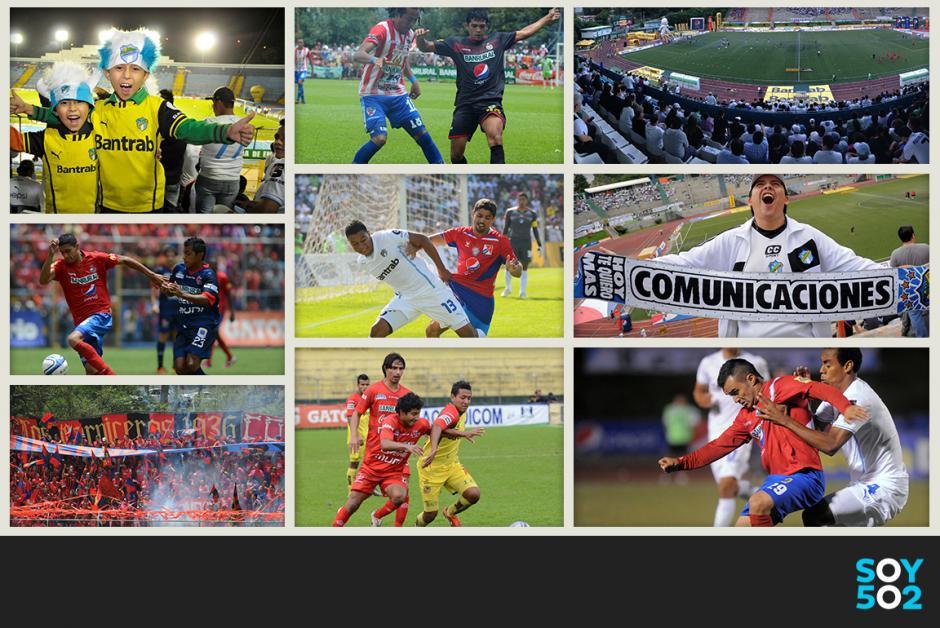 Liga Nacional, Torneo Clausura 2014, futbol. guatemala