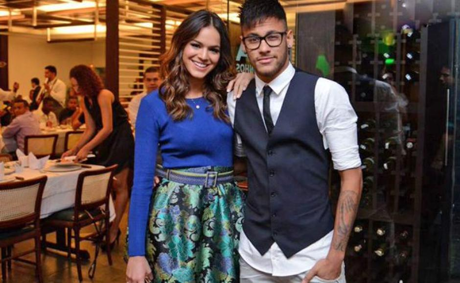 Neymar y Bruna han dado qué hablar en Brasil y el mundo. (Foto: Twiiter)